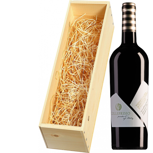 Wijnkist met Collefrisio Montepulciano d'Abruzzo Vignaquadra