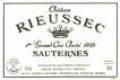 Château Rieussec  1er Grand Cru Classé Halve Fles
