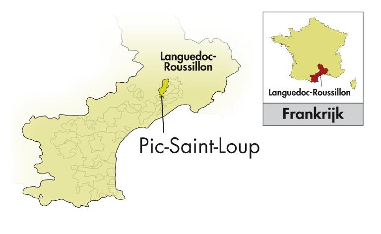 Domaine Clavel Pic Saint-Loup Bonne Pioche