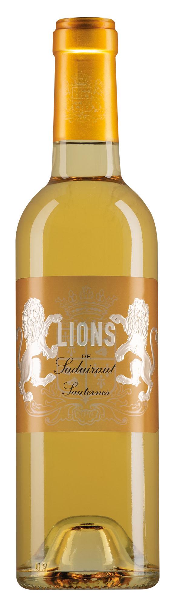 Château Suduiraut Sauternes Lions de Suduiraut halve fles
