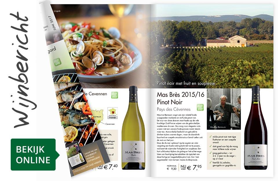 Online wijnbericht juni 2017