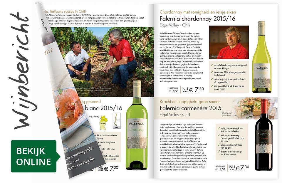 Online wijnbericht juli 2017