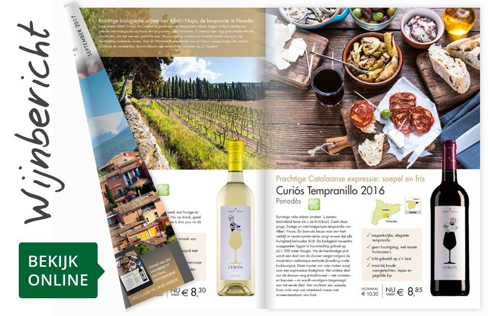 Online wijnbericht september 2017
