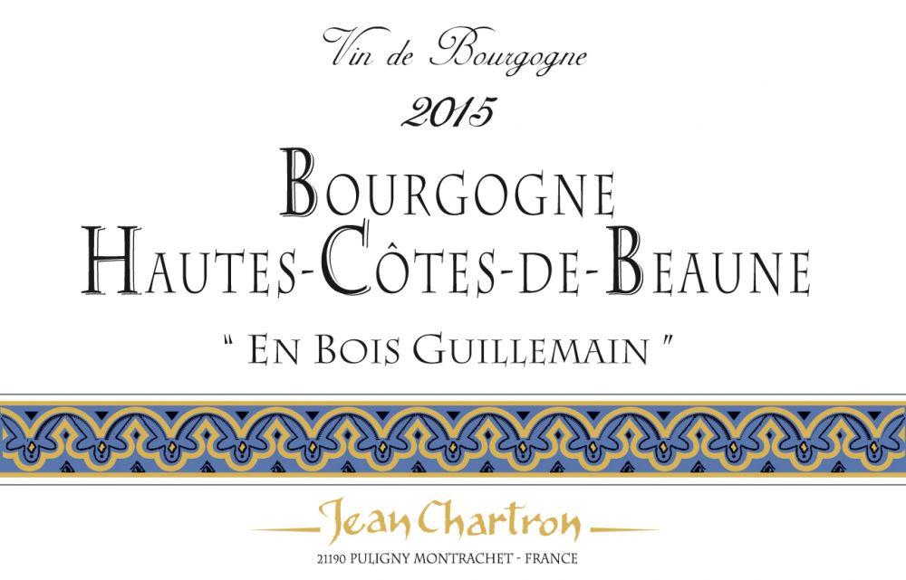 Domaine Jean Chartron Hautes-Cotes-de-Beaune En Bois Guillemain