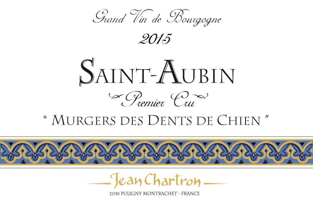 Jean Chartron Saint-Aubin 1er Cru Murgers des Dents de Chien
