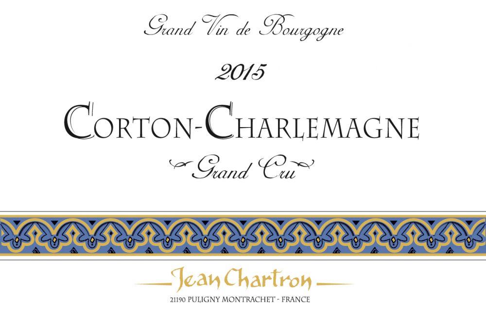 Jean Chartron Corton-Charlemagne Grand Cru 2015
