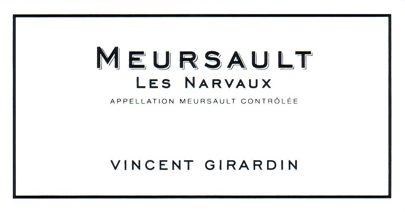 Vincent Girardin Meursault Les Narvaux