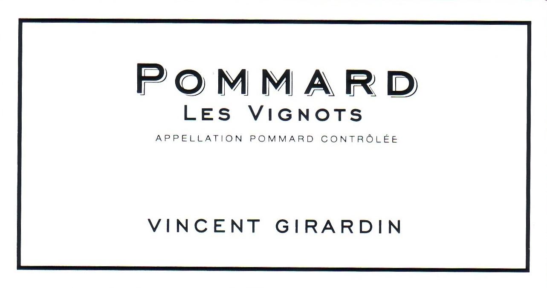 Vincent Girardin Pommard Les Vignots 2011
