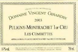 Girardin Puligny-Montrachet Les Combettes Premier Cru 2005