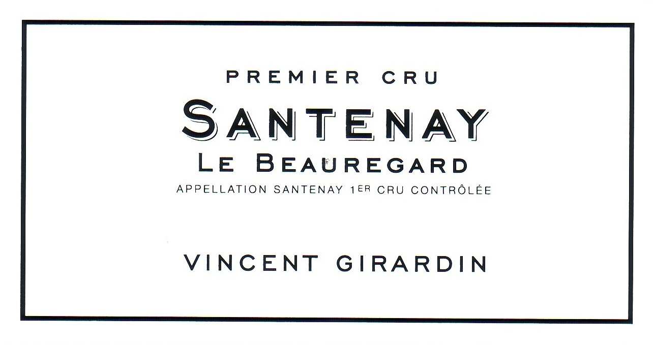 Vincent Girardin Santenay Le Beauregard Premier Cru