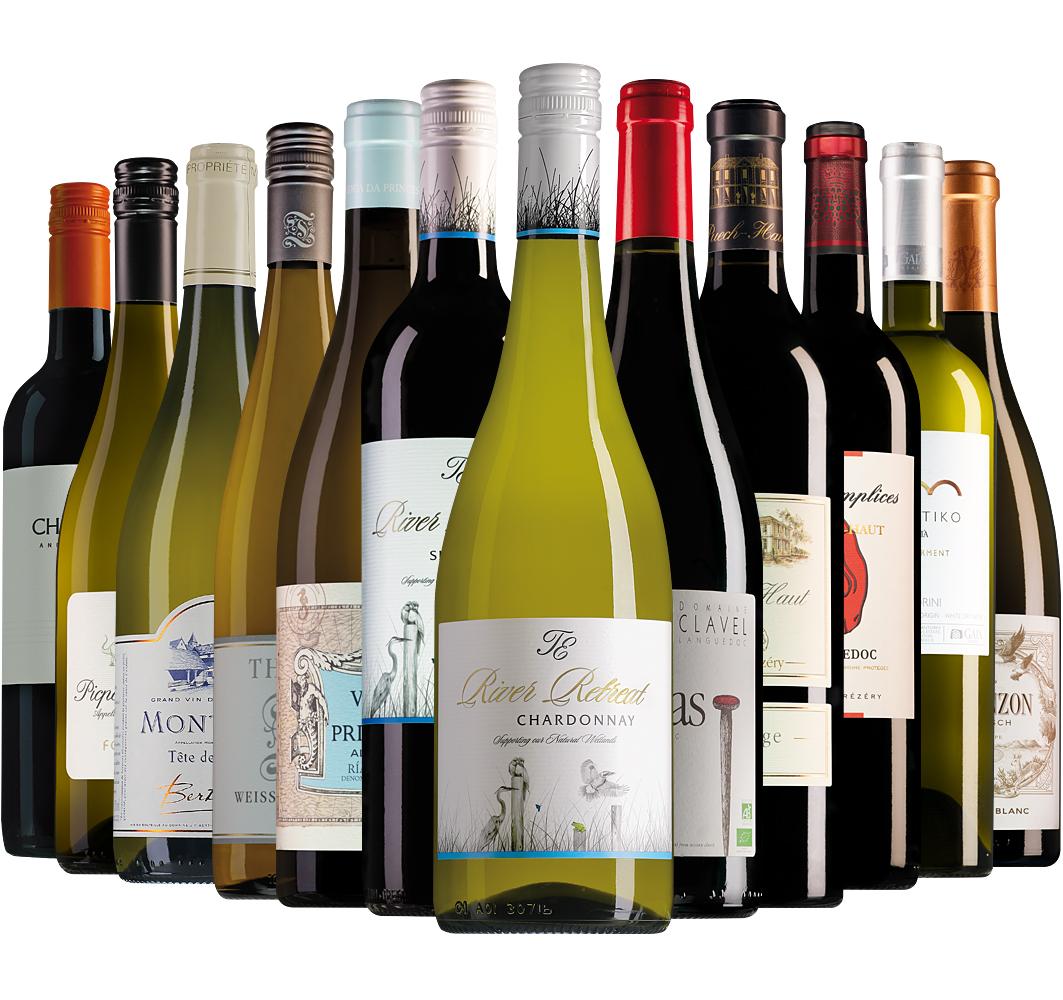 Proefpakket luxe Wijnbericht september (12 flessen)