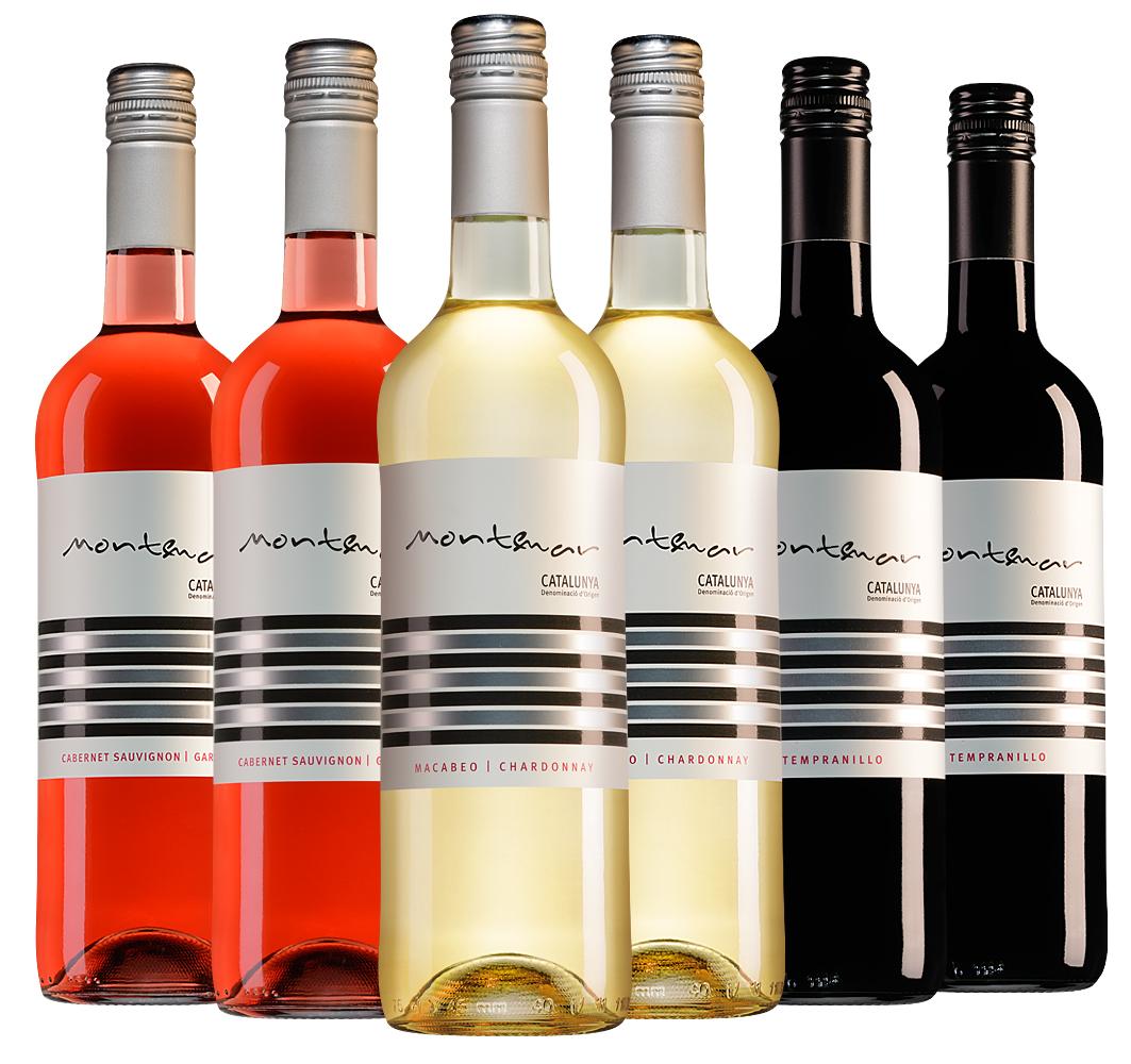 Wijnpakket Montemar (3x2 flessen)