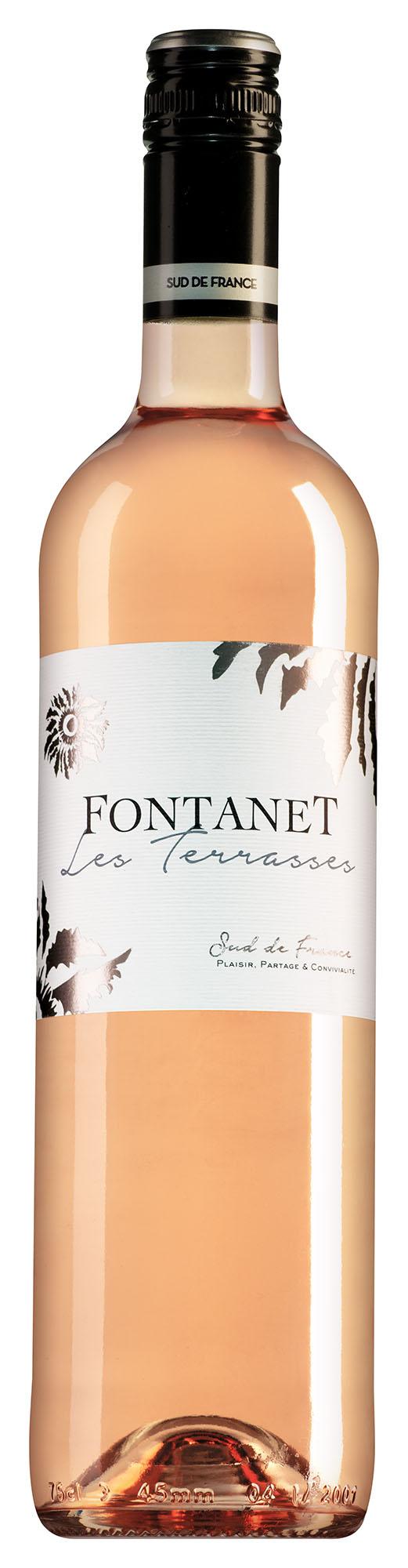 Fontanet Pays d'Oc Les Terrasses rosé